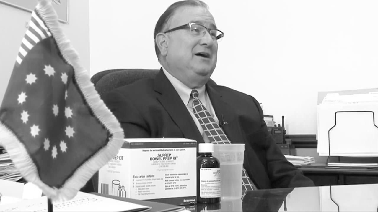 Mayor Panto's Colonoscopy
